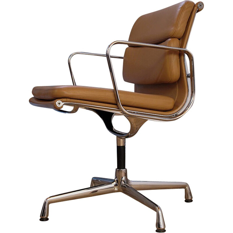 Charles & Ray Eames EA208 Soft Pad Chair For Vitra - 1960s