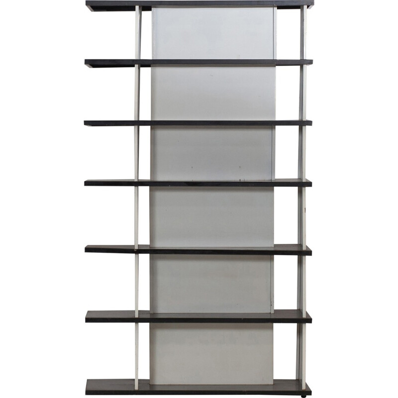 Industrial book case by Wim Rietveld for De Bijenkorf -1960s