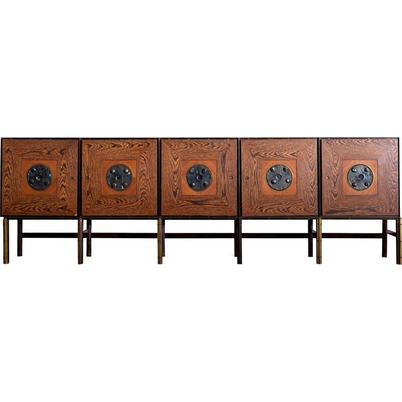 Artistic One-off sideboard, Brutalist - 1970s
