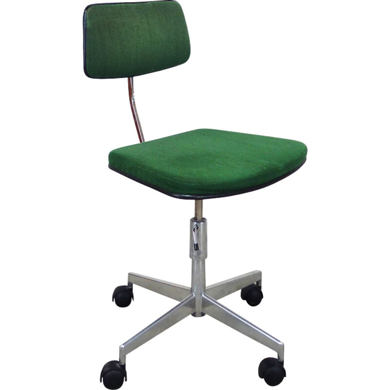 Mid-century desk chair with metal structure - 1970s