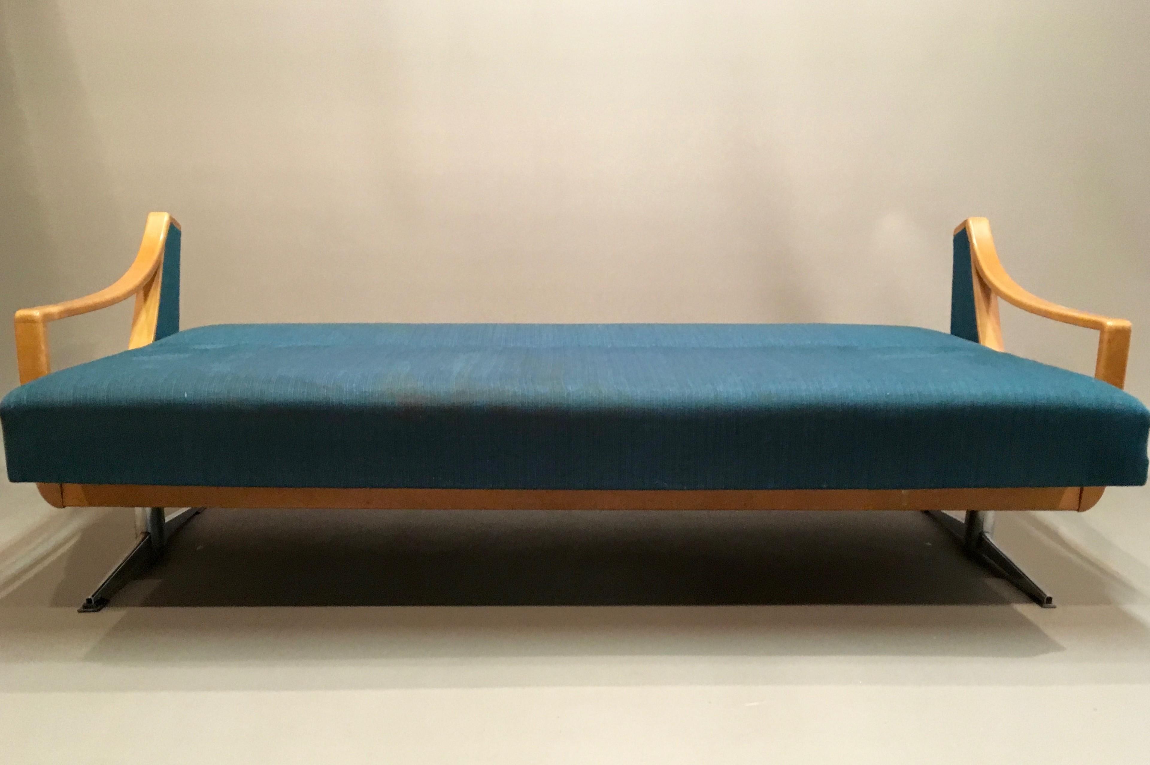 Daybed Scandinave scandinavian vintage sofa daybed - 1950s - design market
