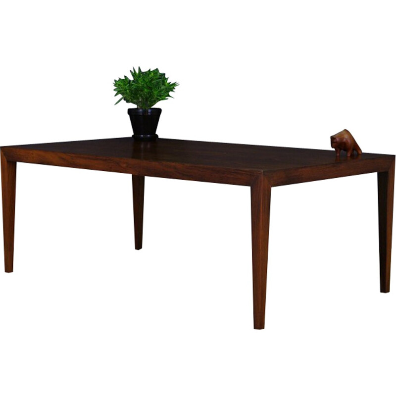 Danish Rosewood Coffee Table by Severin Hansen for Haslev Møbelsnedkeri - 1970s