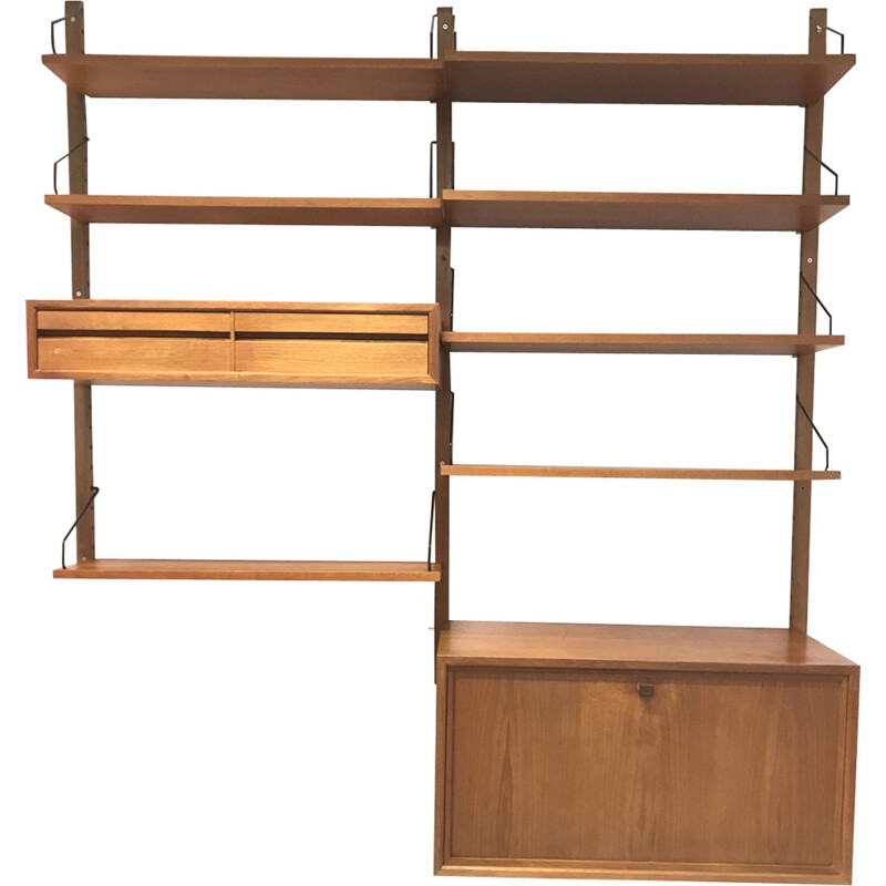 Wall unit by Poul Cadovius for Royal - 1960s