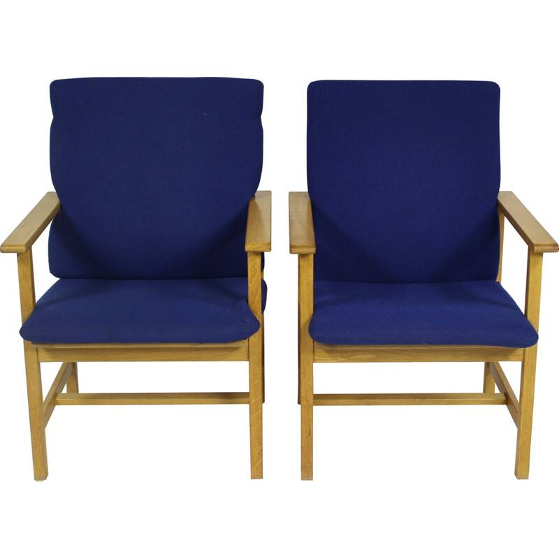 Vintage Danish Armchair by Børge Mogensen for Fredericia - 1960s