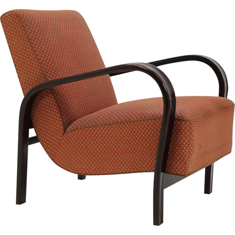 Vintage Armchair by Jindrich Halabala - 1940s
