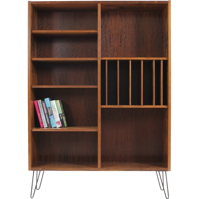 Vintage rosewood bookcase by Poul Hundevad - 1960s