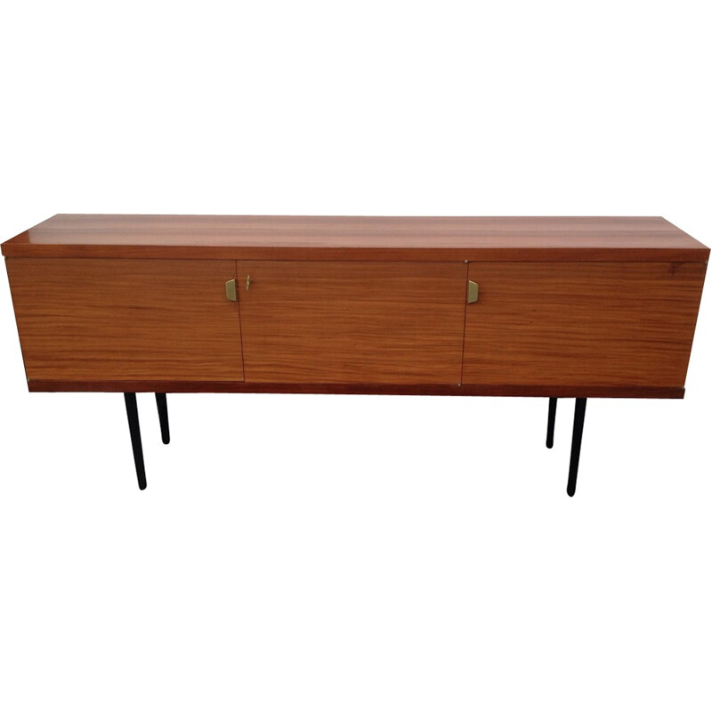 Large vintage french sideboard made of Assamela - 1960s