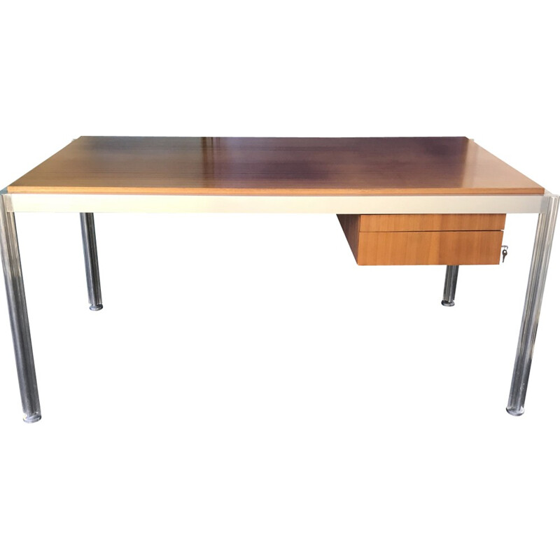 Desk vintage by Georges Cianciminio - 1970s