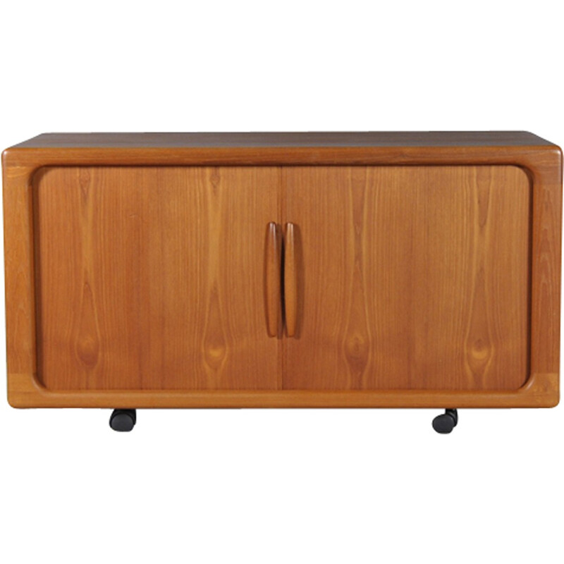 Small vintage sideboard with sliding doors by Dyrlund - 1960s