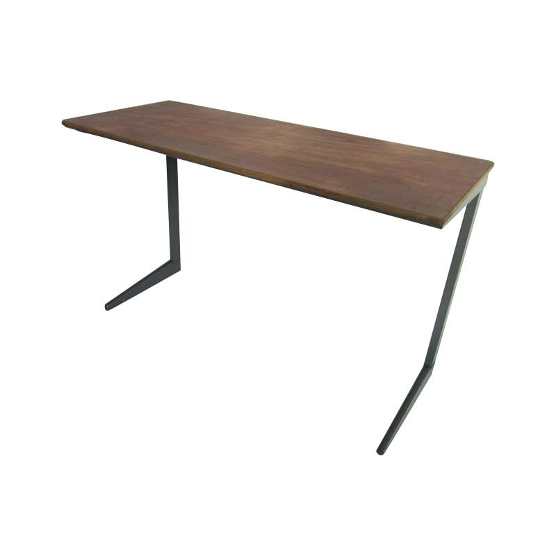 Wood And Metal Desk Friso Kramer 1960s Design Market