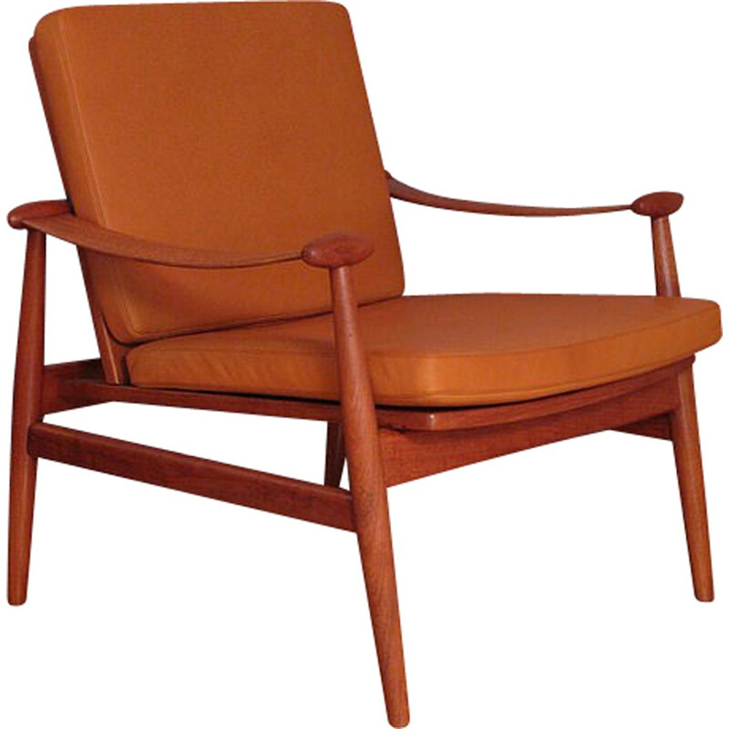 "Armchair Model 133 ""Spadestolen"" by Finn Juhl For France & Daverkosen - 1950s"