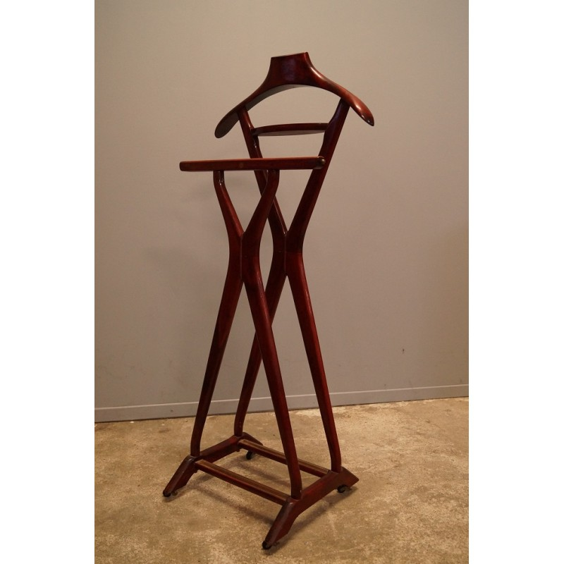 Italian wooden valet by Ico Parisi - 1960s - Design Market