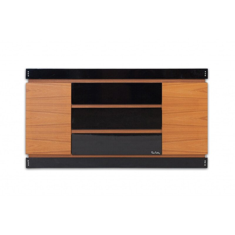 Vintage Teak Cabinet with drawers by Pierre Cardin - 1970s