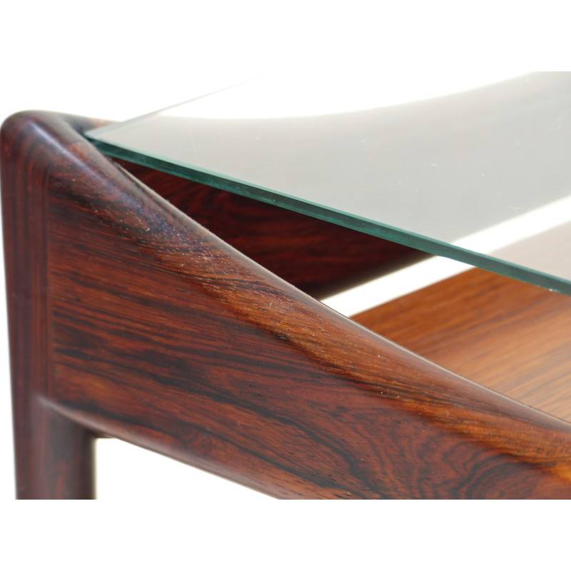 Coffee Table In Brazilian Rosewood Kristian Vedel 1960s Vintage Designer Furniture Previous