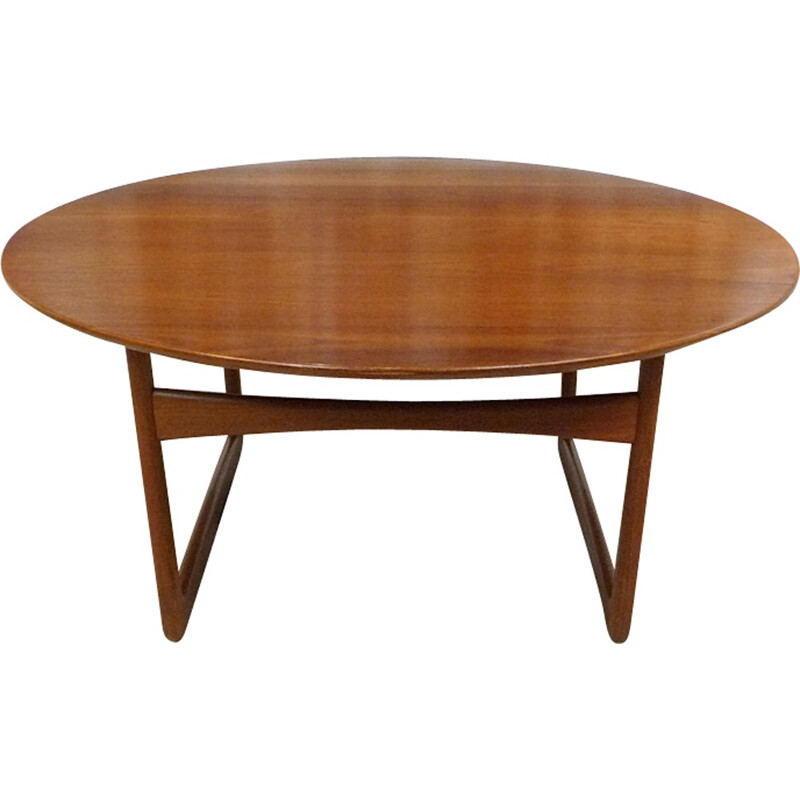 Teak Coffee Table by Hvidt and Mølgaard for France & Søn - 1950s