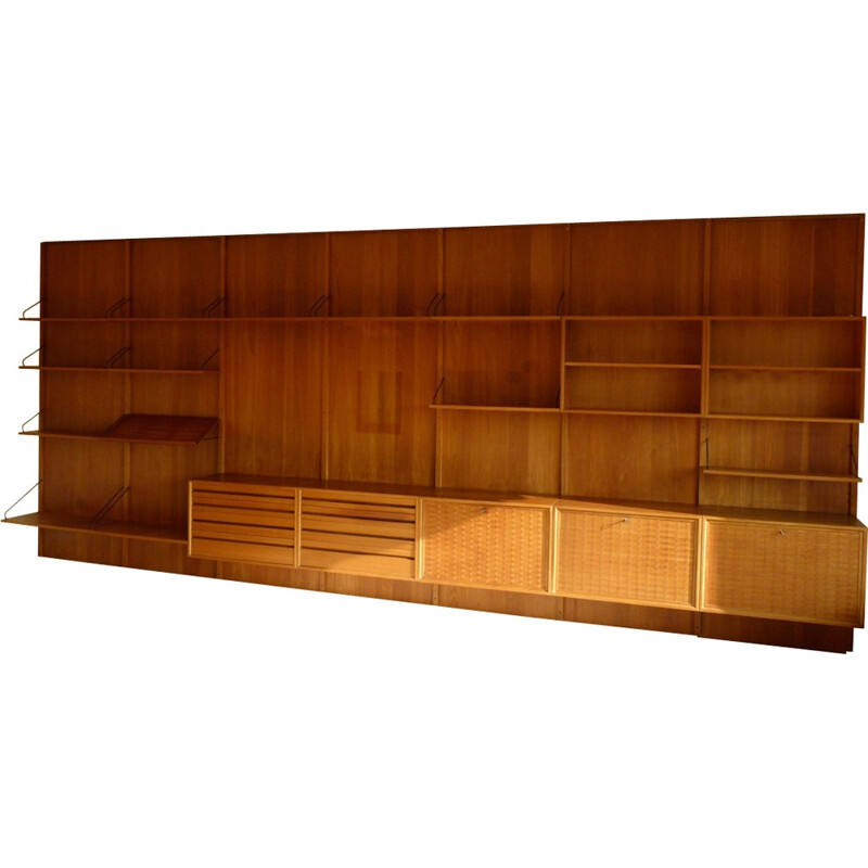 Royal Teak Wall Unit System by Poul Cadovius for Cado - 1950s