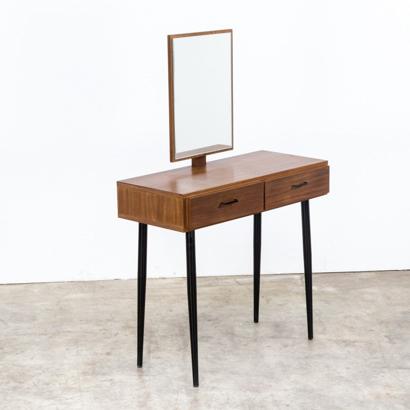 Pleasing Teak Dressing Table With Mirror 1960S Andrewgaddart Wooden Chair Designs For Living Room Andrewgaddartcom