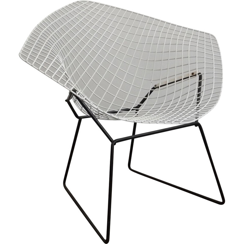 "Vintage ""Diamond"" Chair by Harry Bertoia - 1950s"