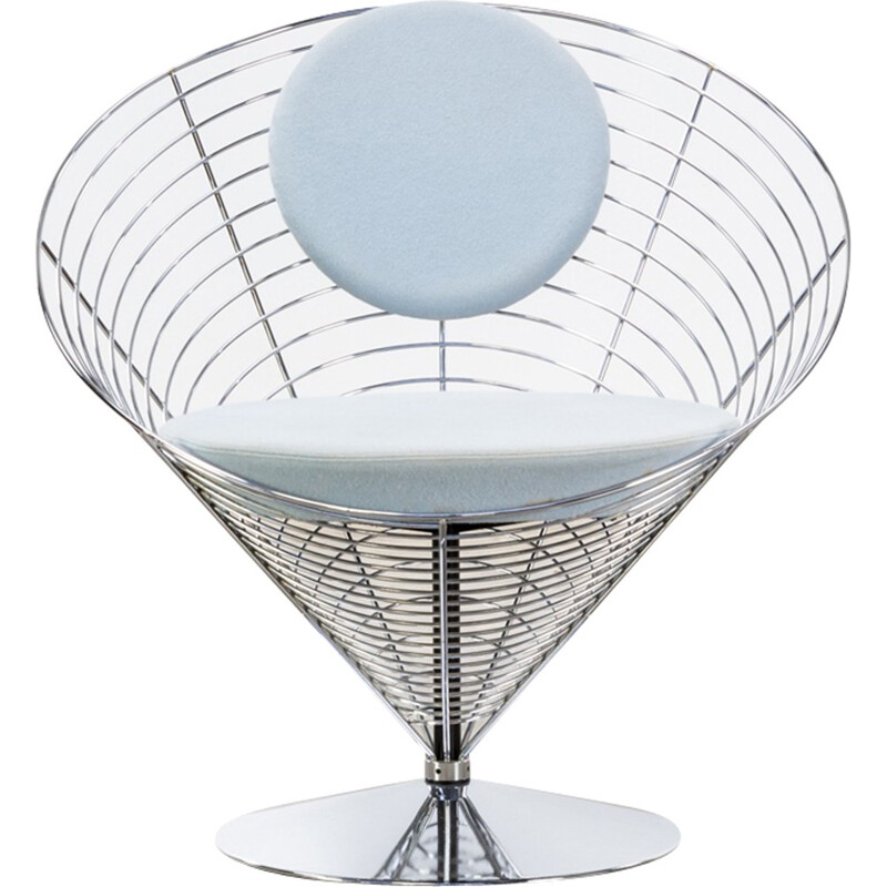 Vintage cone chair by Verner Panton for Fritz Hansen - 1980s