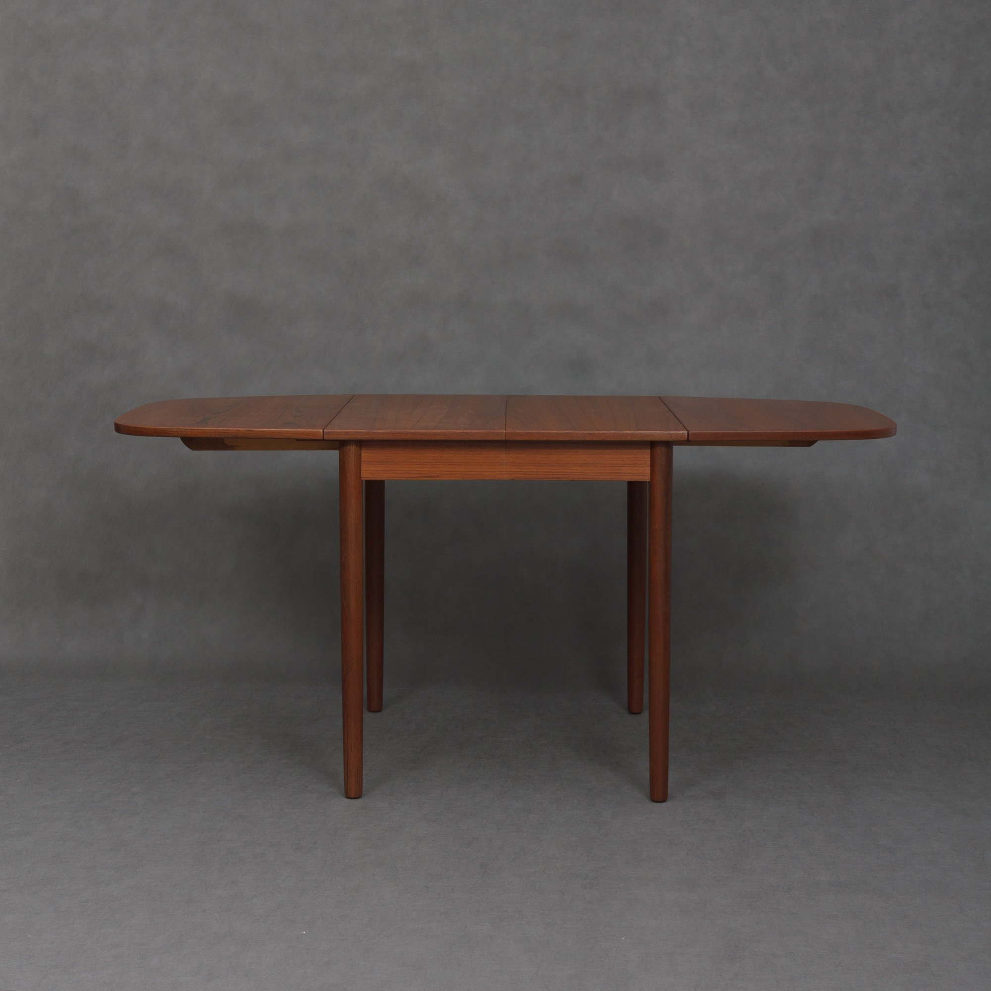 Vintage teak extendable table by C J Rosengaarden 1960s Design