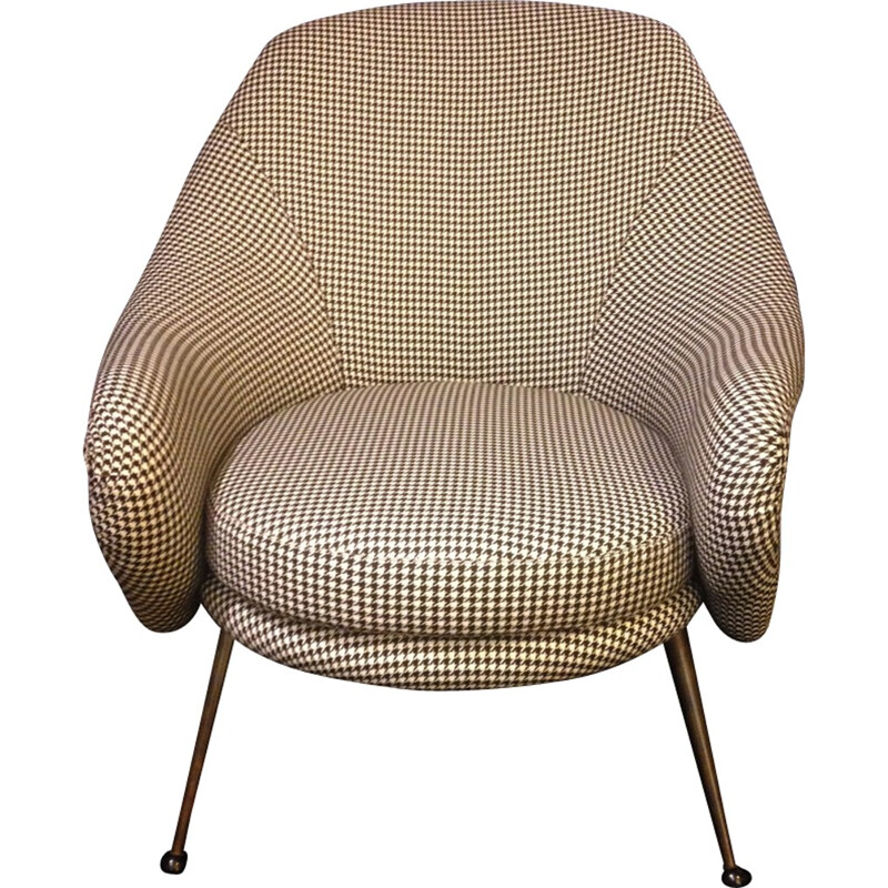 """Martingala"" armchair by Marco Zanuso for Arflex - 1950s"