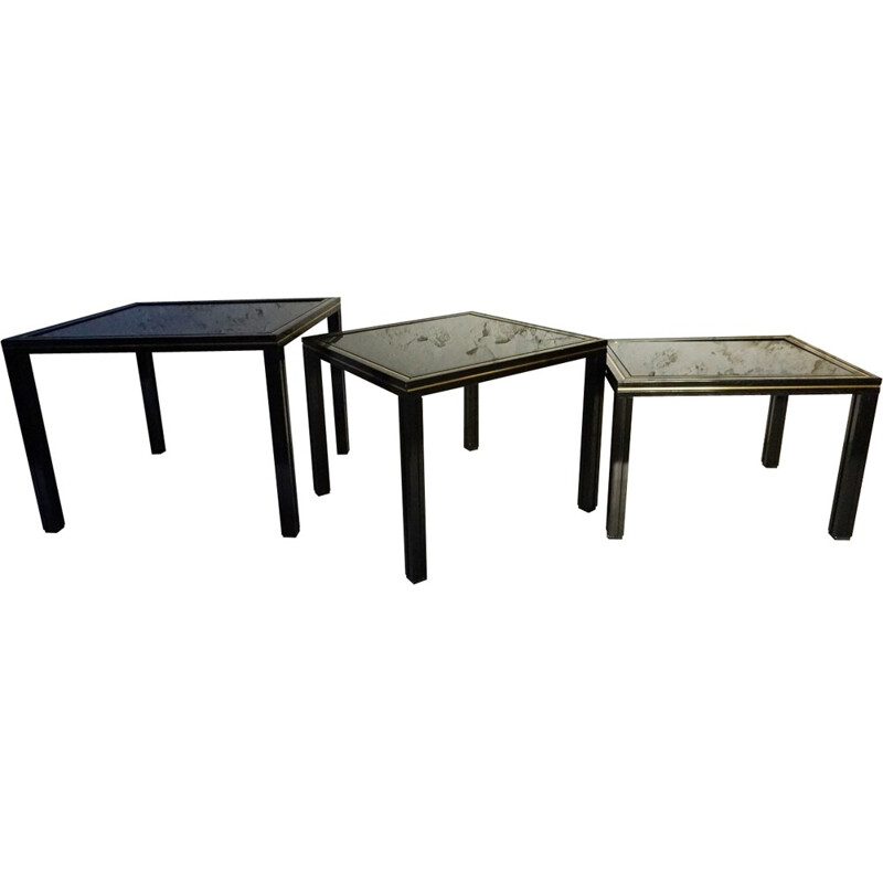 Nesting tables side tables by Pierre Vandel - 1980s