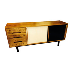 """Sideboard """"Cansado"""", Charlotte PERRIAND - 1960s"""