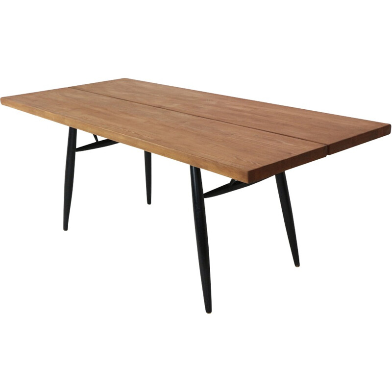 """Pirkka"" Dining Table by Ilmari Tapiovaara for Laukaan Puu - 1950s"