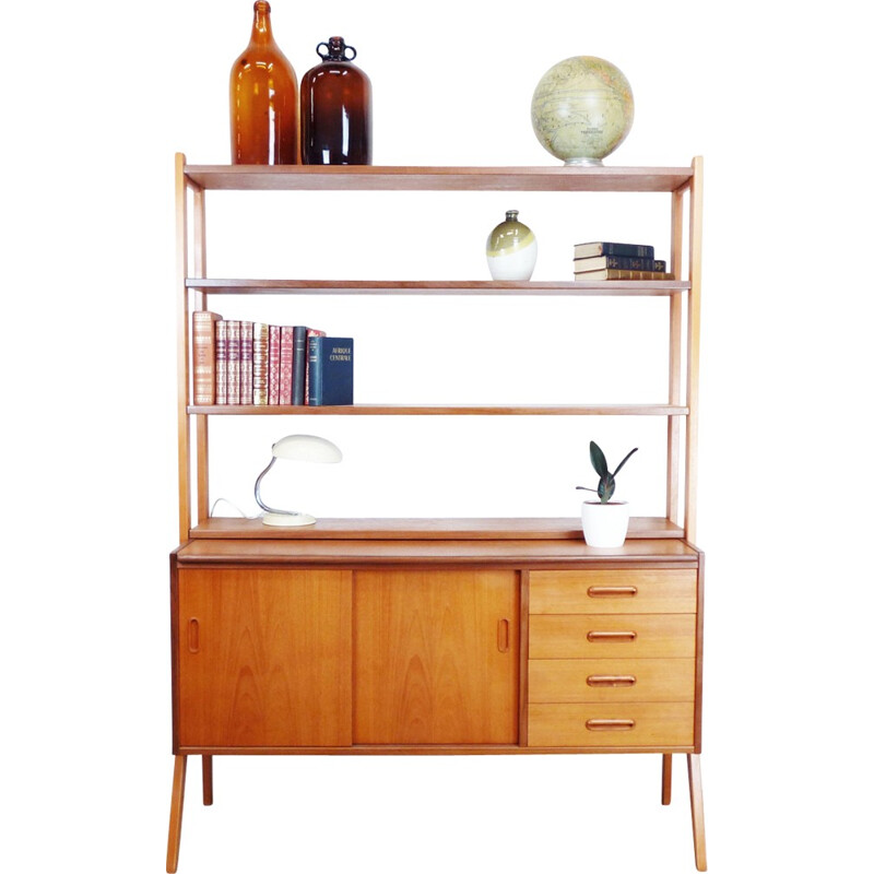 Vintage scandinavian multifunction chest of drawers - 1960s