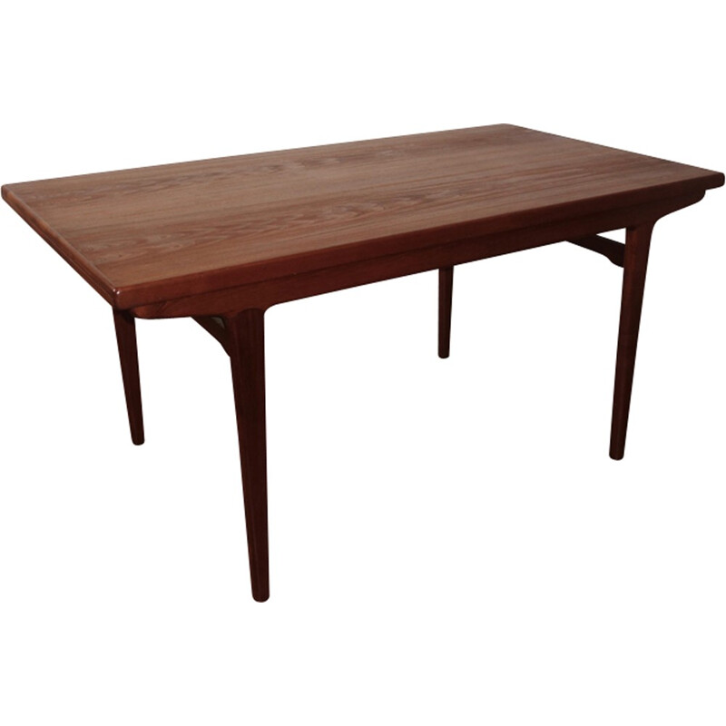 Vintage Scandinavian dining table in teak - 1960s