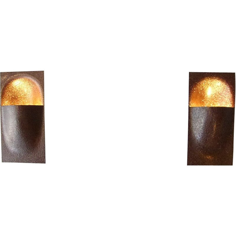 Pair of Balance wall lamps by Raak - 1970s