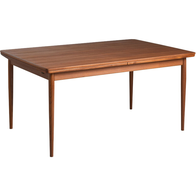 Vintage Teak dining table by Arne Vodder edited by Sibast - 1960s