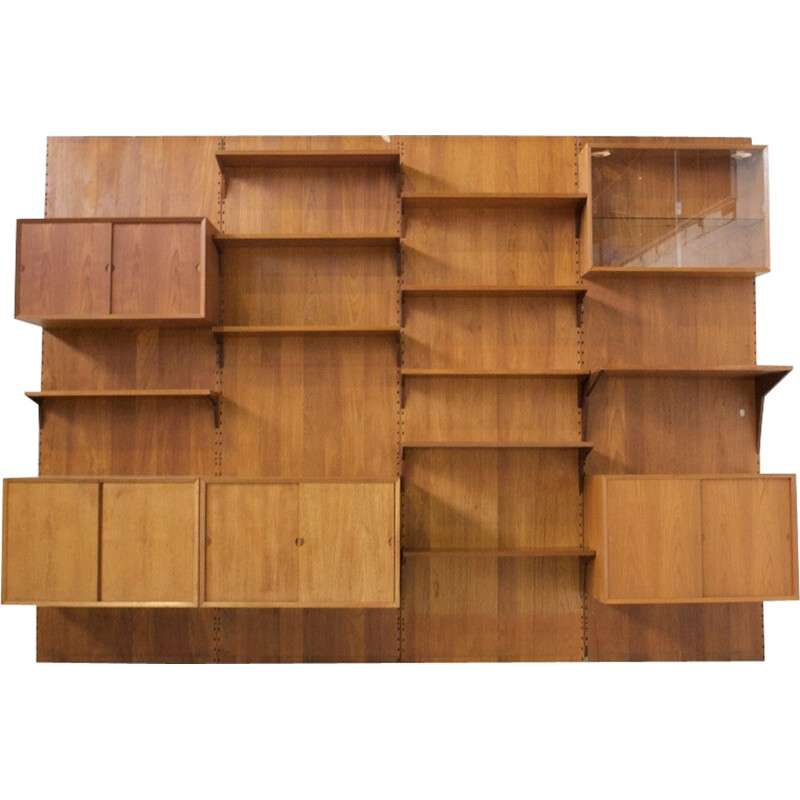 """Vintage Wall system model """" Cado"""" by Poul Cadovius - 1960s"""