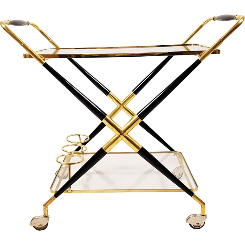 Serving Bar Cart, Design Cesare Lacca, Italy - 1950s