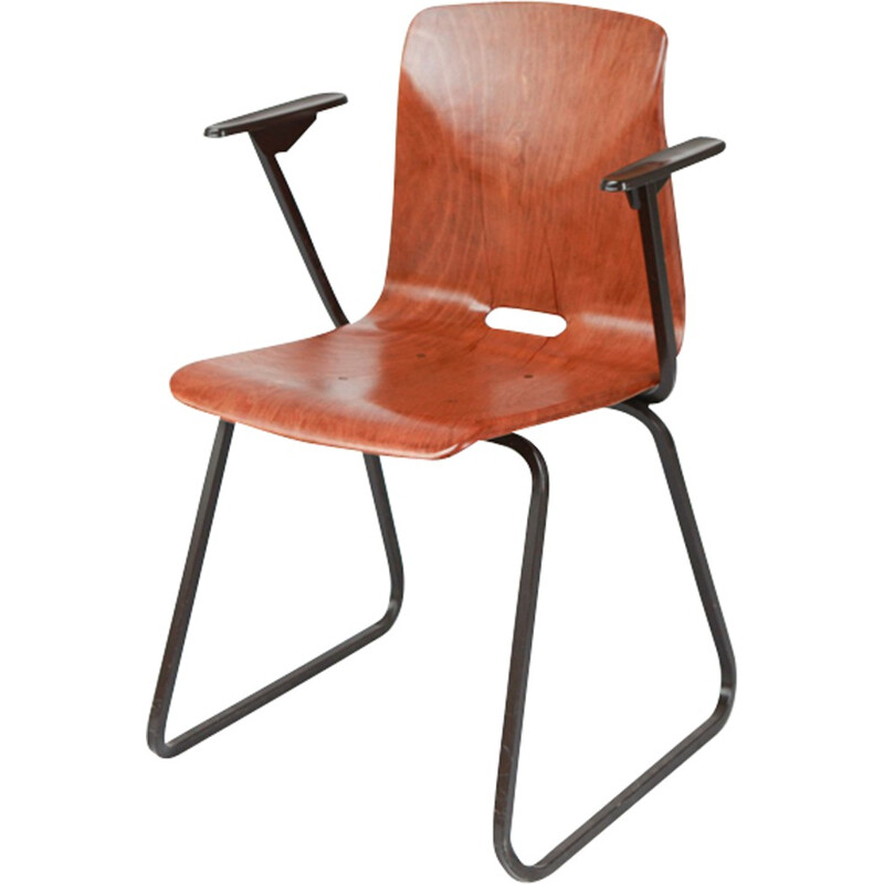 Galvanitas S23 chair with armrests - 1970s