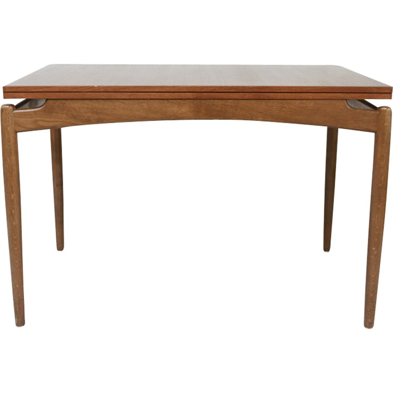 Scandinavian Extendable Teak Dining Table - 1960s