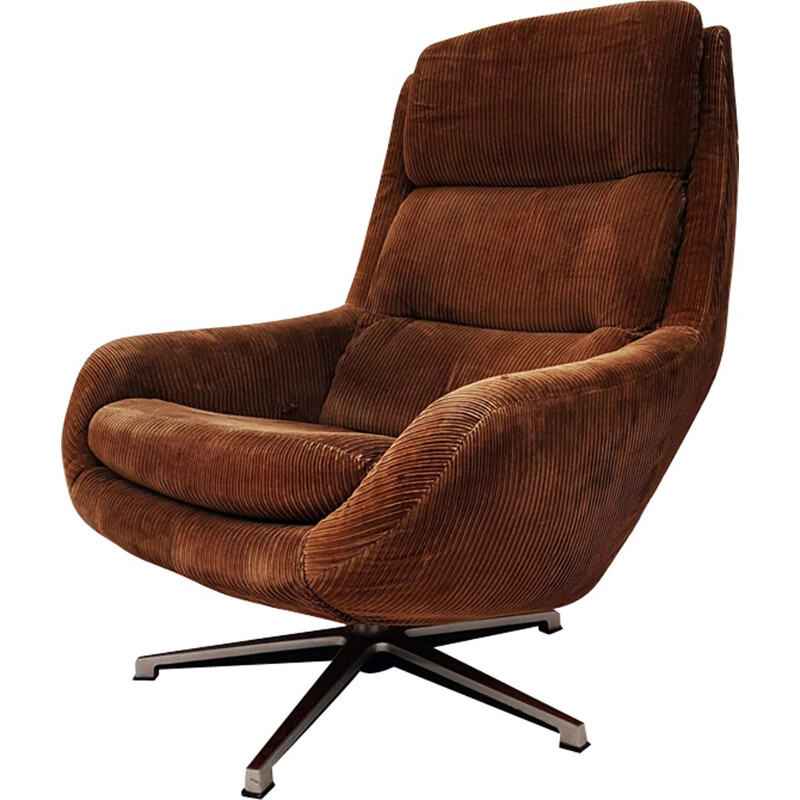 Danish Lounge Chair by Henry Walter Klein for Bramin - 1970s