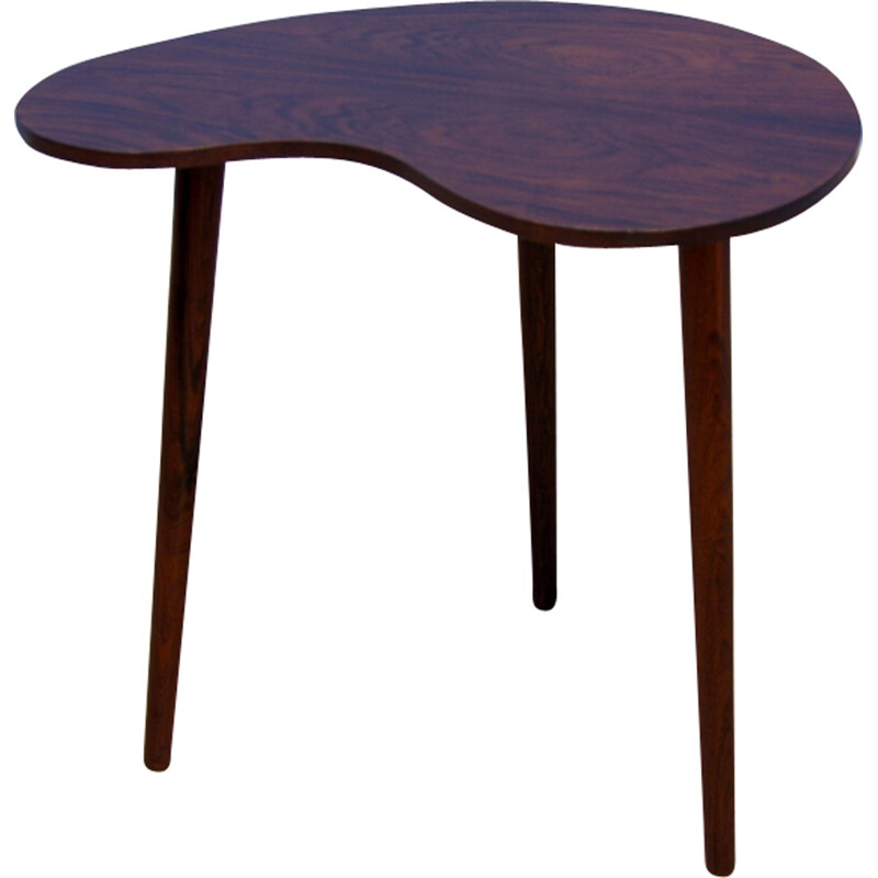 Vintage side table in rosewood - 1960s