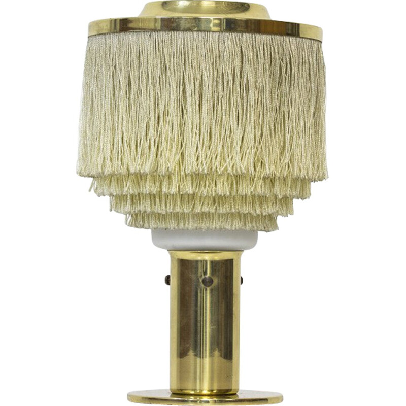 Silk Fringes Table Lamp by Hans-Agne Jakobsson -1960s