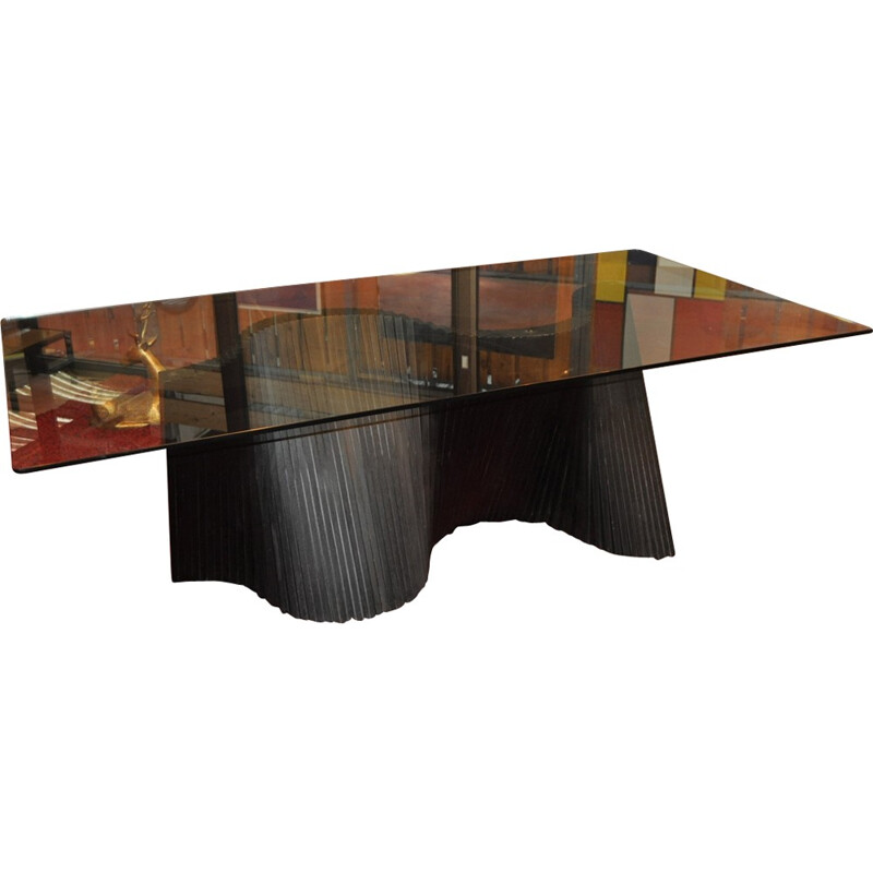 Wave table vintage for Kenneth Cobonpue - 2000