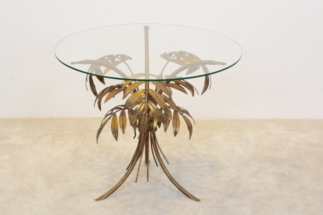 Vintage palm tree coffee table by hans kgl 1970s design market previous next aloadofball Choice Image