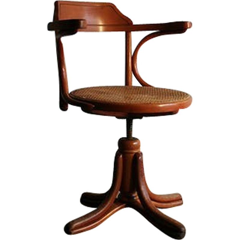 Vintage French Desk Chair by Thonet - 1930s