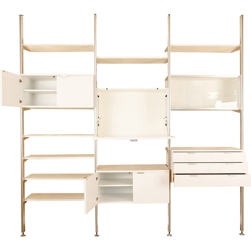 """Vintage """"Css"""" wall unit system by George Nelson - 1970s"""