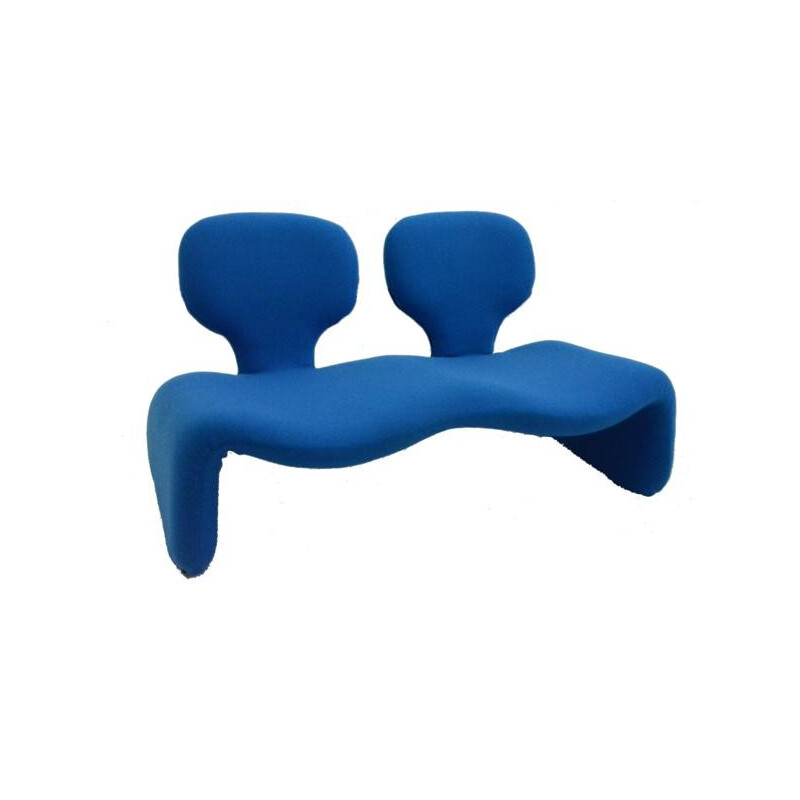 """2-seater """"Djinn"""" sofa by Olivier Mourgue - 1960s"""