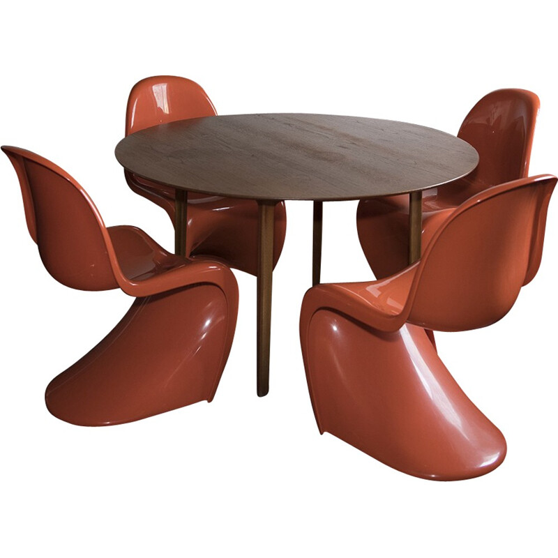 Grand prix Table vintage by Arne Jacobsen - 1950s