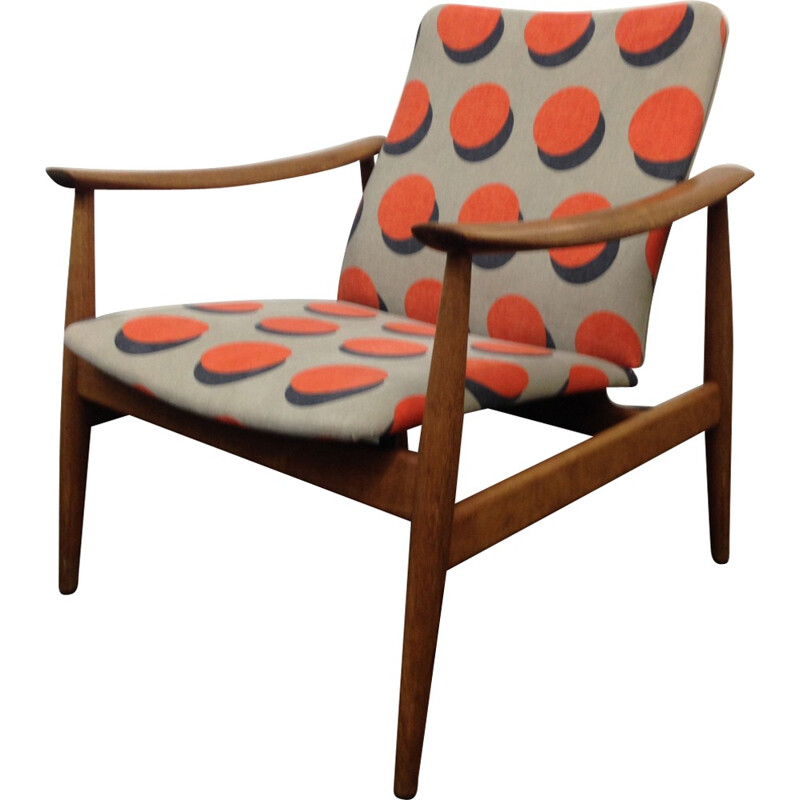 Vintage armchair by Finn Juhl for France and sons - 1960s
