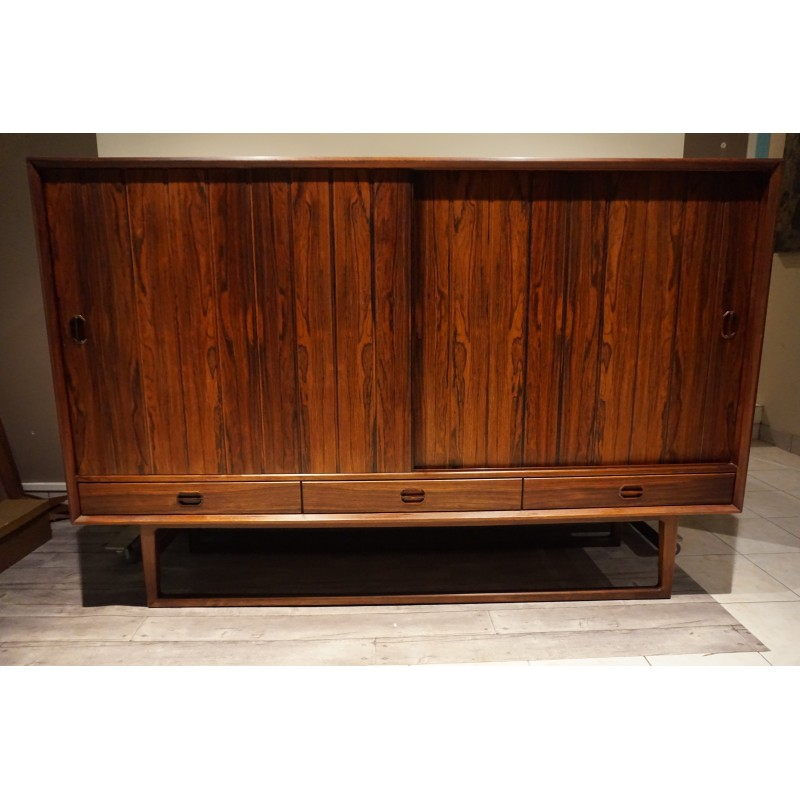 Danish Sideboard Made Of Rosewood By Helge Sibast 1960s Design