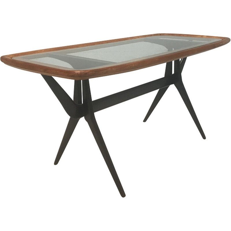 Vintage coffee table by Cesare Lacca for Cassina - 1960s