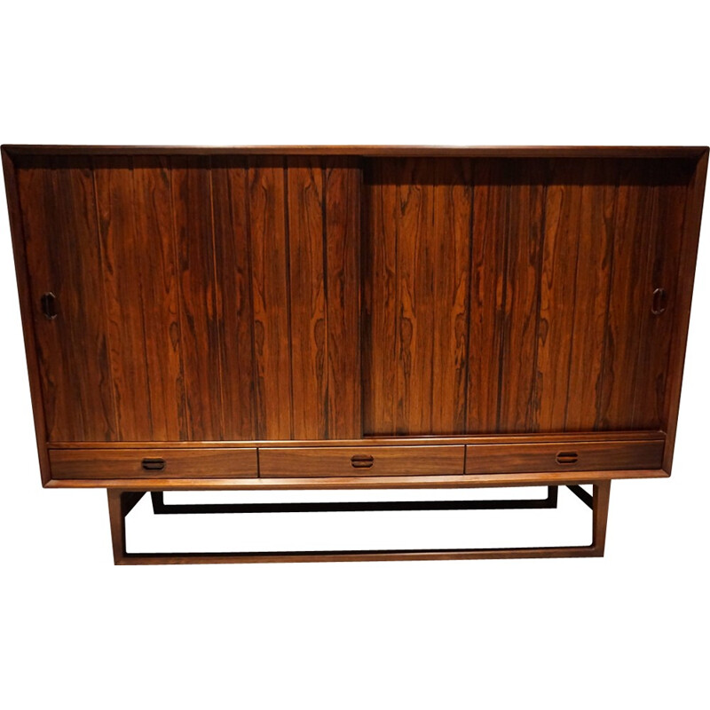 Danish Sideboard made of Rosewood by Helge Sibast - 1960s