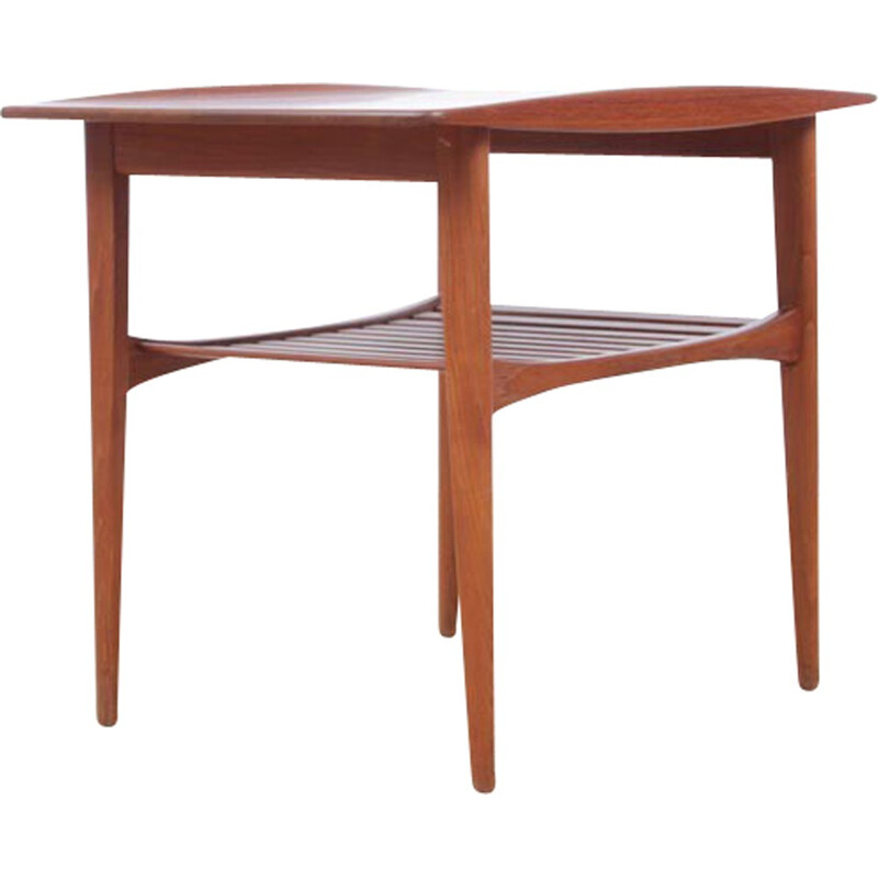 Scandinavian side table in solid teak by Tove and Edvard Kindt-Larsen for France and Søn - 1950s